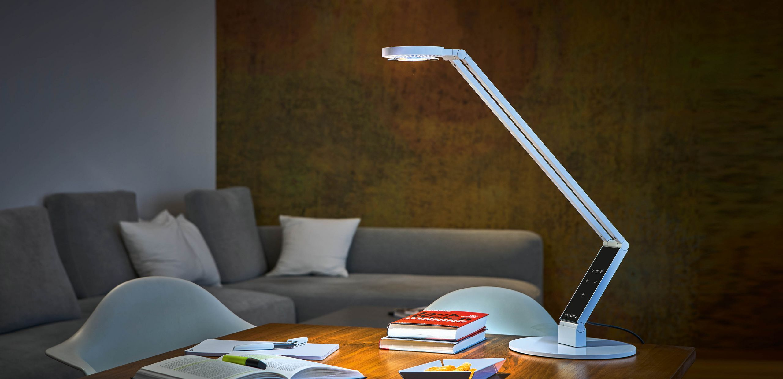 Home Office: GET THE RIGHT LIGHT AT HOME TOO